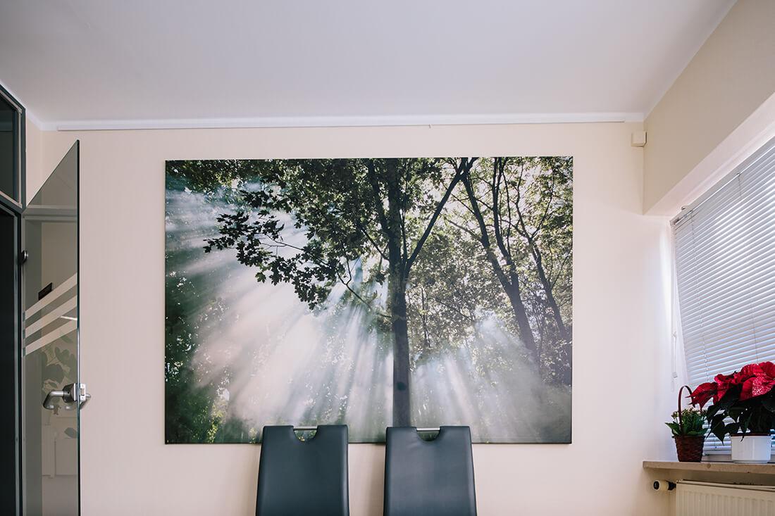 Hausarzt Geretsried - Kőrössy - Praxis - Wandbild